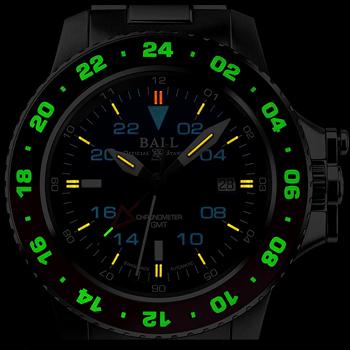 ボール ウォッチ-Aero GMTⅡ「エアロGMT2 赤黒ベゼル」 画像2