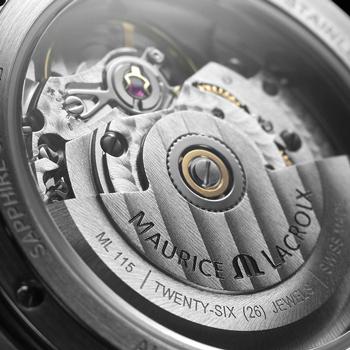 モーリス・ラクロア-アイコンオートマティック35mm ホワイトMOPダイヤル 画像3