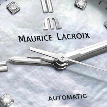 モーリス・ラクロア-アイコンオートマティック35mm ホワイトMOPダイヤル 画像2